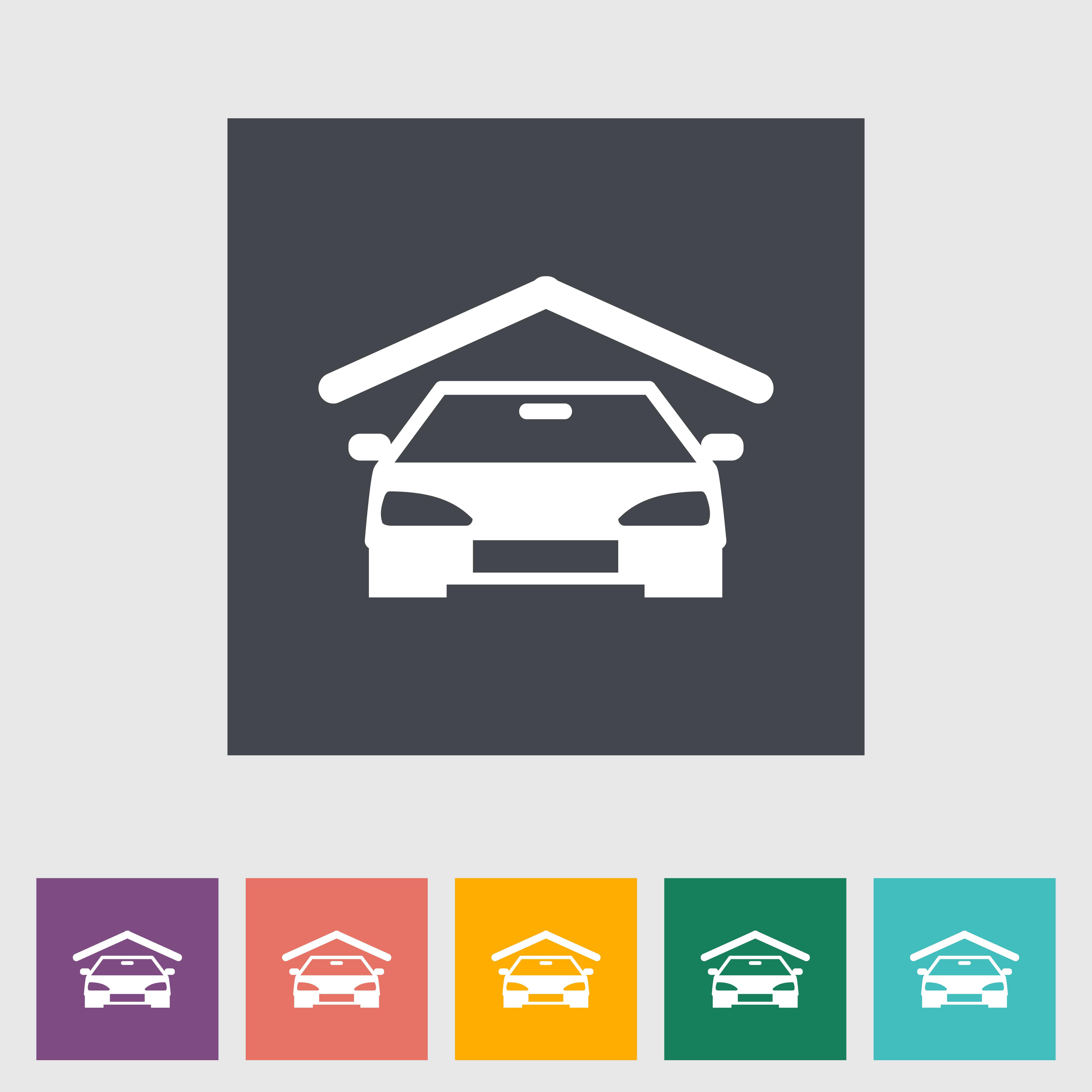 Garage icon.